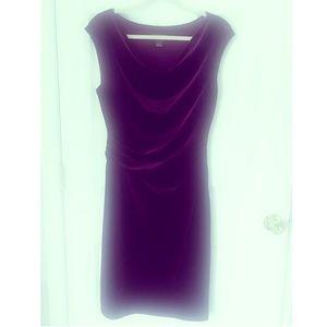 Jessica Howard velvet dress in size 12